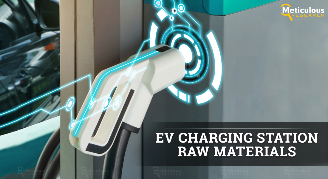 EV Charging Station Raw Materials Market: Meticulous Research® Uncovers the Reasons for Market Growth at a CAGR of 34.1% to Reach $4.91 Billion by 2028