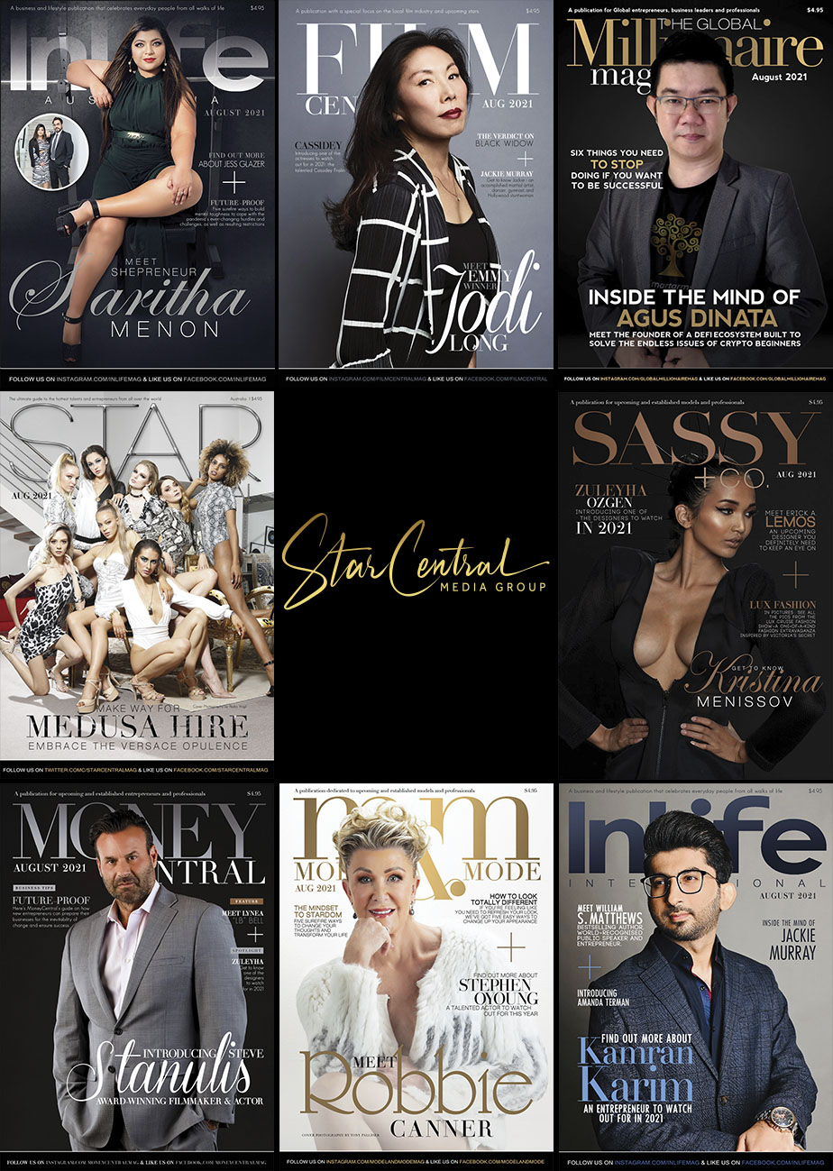 StarCentral Media Group has released this month's Movers & Shakers featuring: Agus Dinata, Kamran Karim, Steve Stanulis, Robbie Canner, Saritha Menon and more