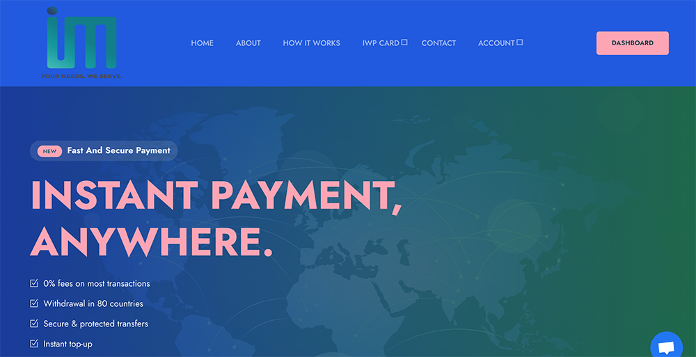 Introducing Instant Wallet Pay, an end-to-end, account and card-based payment solutions company for Merchants