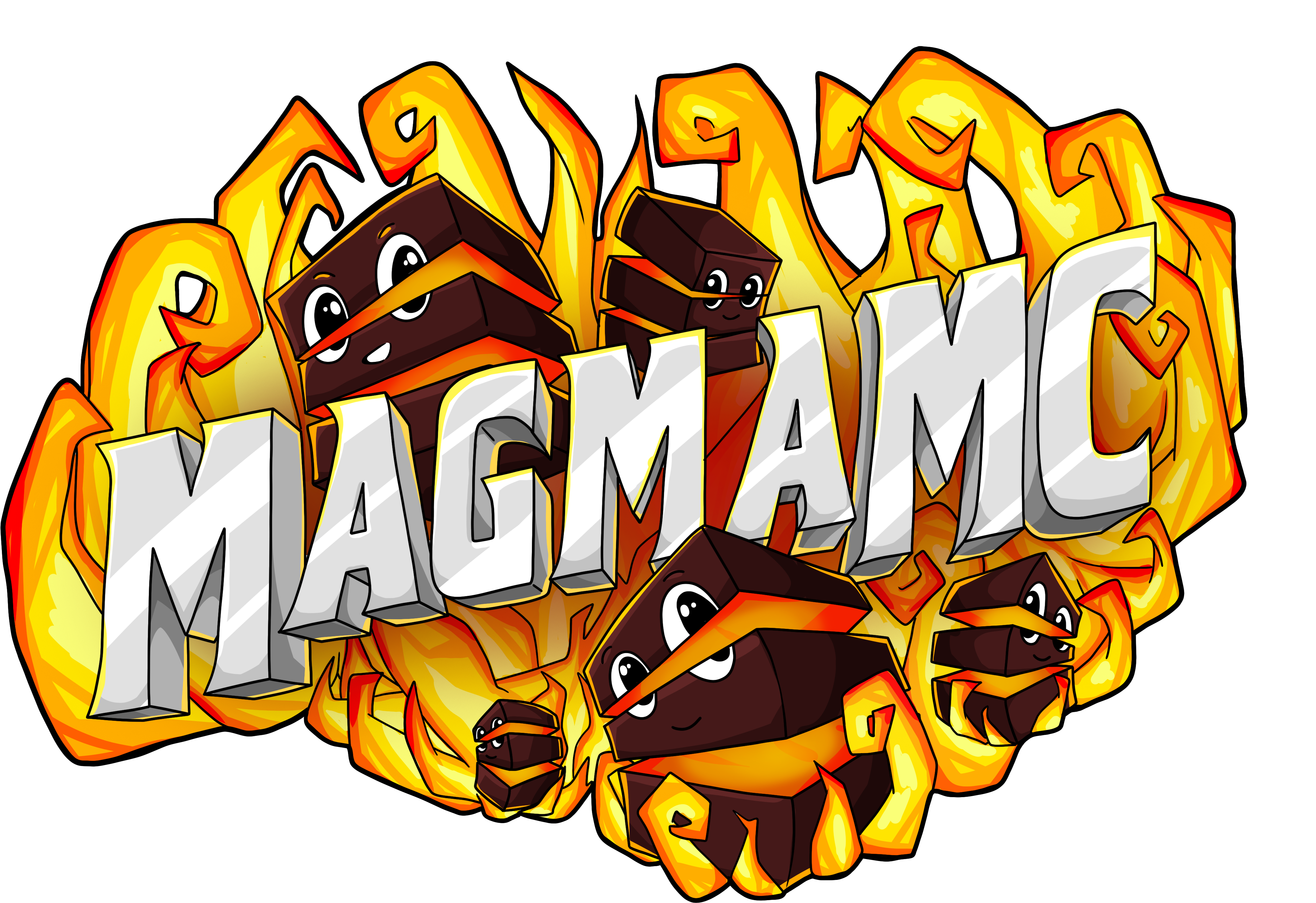 MagmaMC Survival Minecraft Server with both Java and Bedrock Support