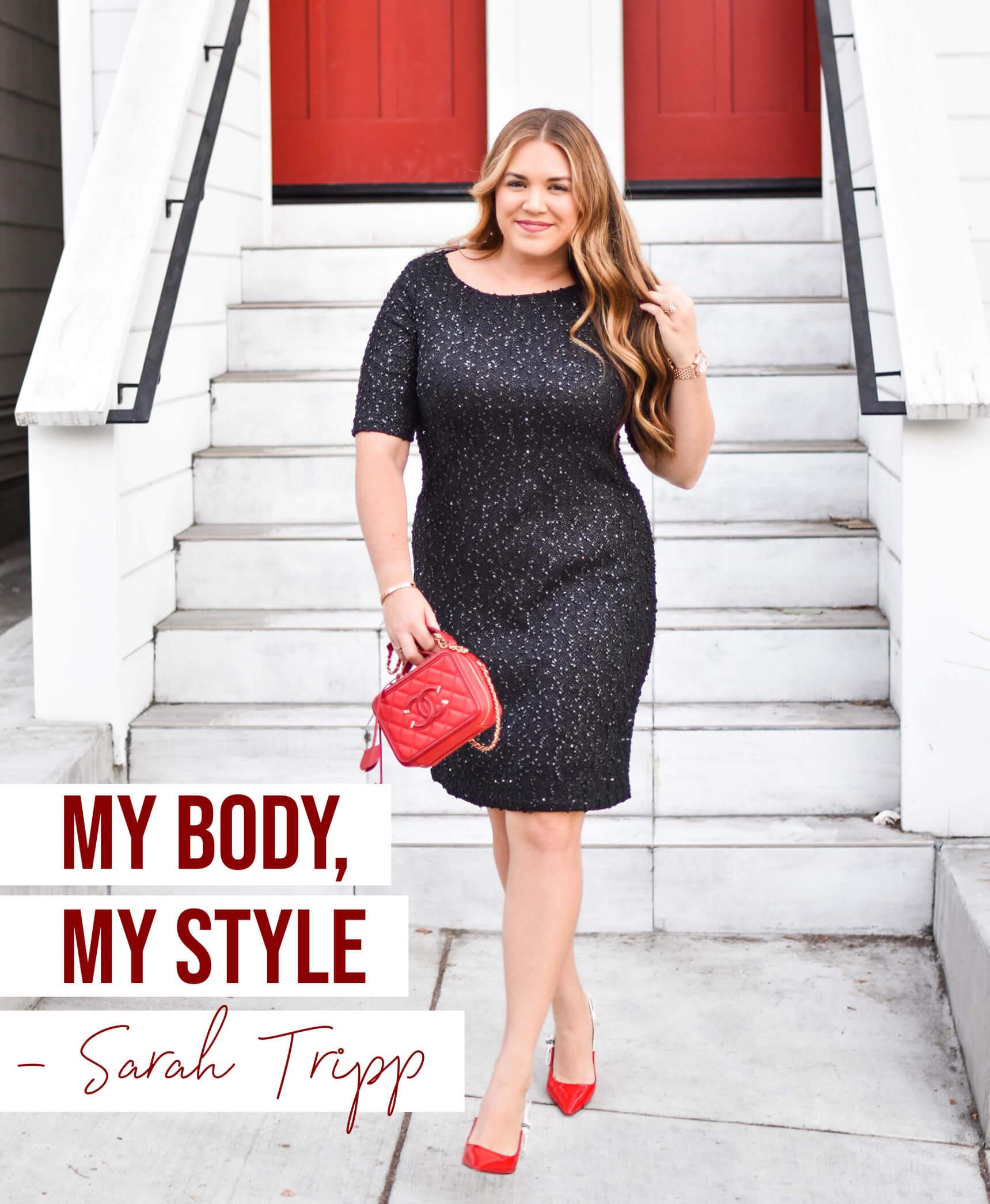 Sarah Tripp: Body Positive Influencer Sarah Tripp Sells Out First Signature Swimsuit Collection