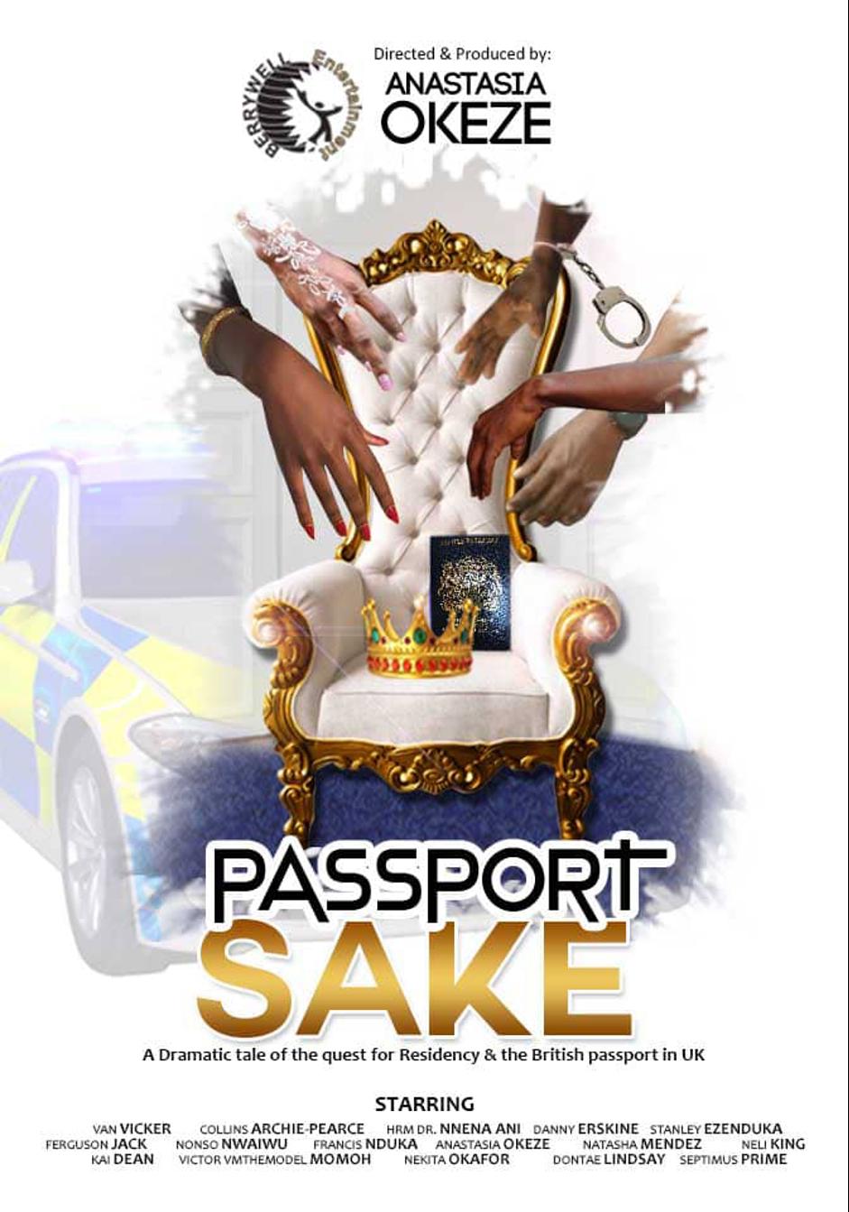 Black Female Filmmaker Anastasia Ifeanyi Okeze Makes Her Directorial Debut With Passport Sake