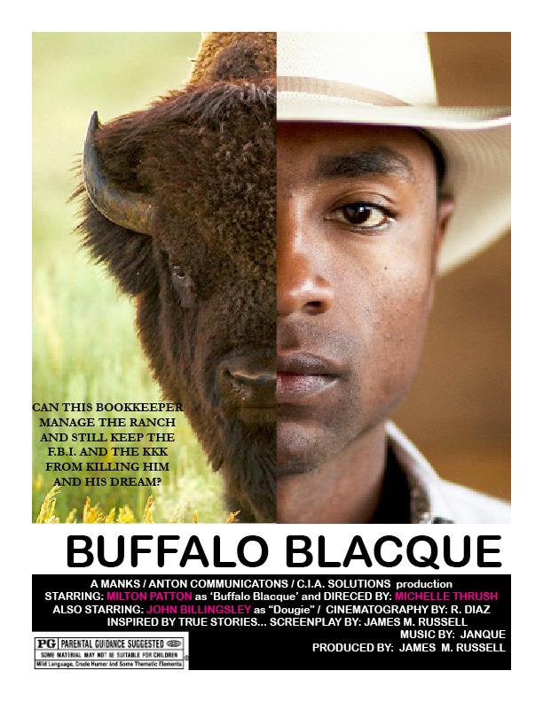 American/Canadian western screenplay Buffalo Blacque awarded Finalist at the prestigious Peachtree Village International Film Festival