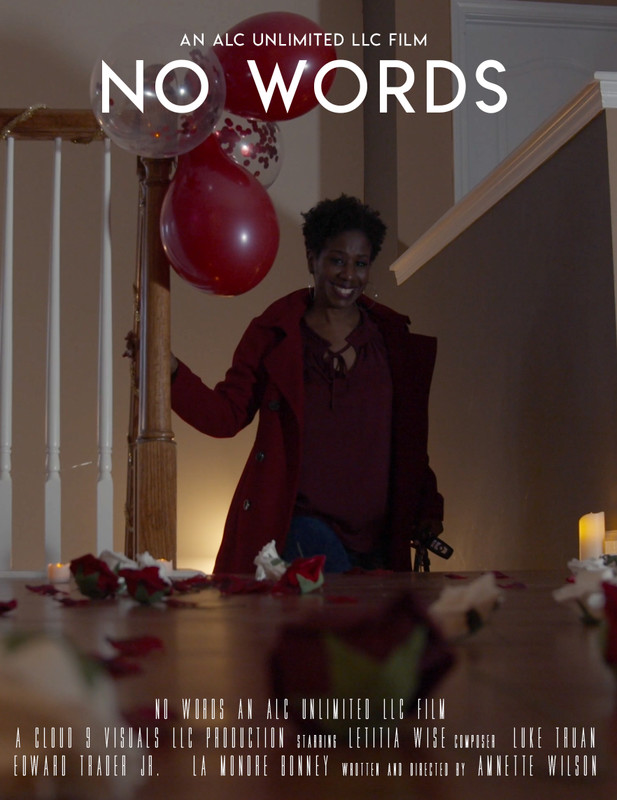 """Screenwriter and Director Annette Wilson Announces Short Film """"No Words"""" Is a Finalist at Peachtree Village International Film Festival"""
