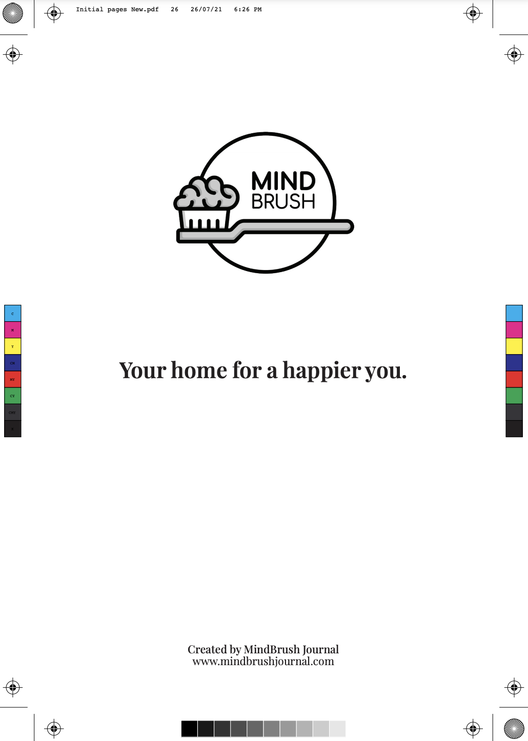 Mindbrush Launches Self-care Journal to Inspire People to Value their Mental Well-being as a Means to Happiness