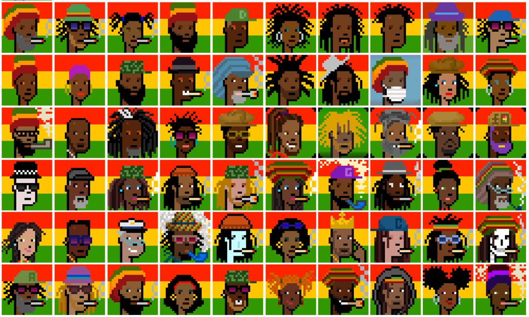 Cryptorastas, a Revolutionary New Wave that Bridges Reggae Culture & Music to Non-Fungible Token (NFT)