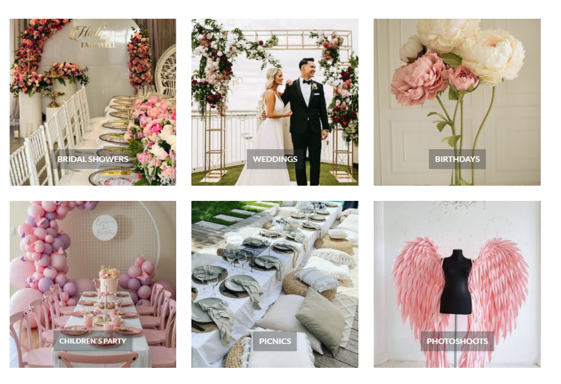 Magic Flowers Event Rentals Provides Affordable Event Planning, Event Rentals, Bridal Shower Décor and Kids Party Ideas and Planning in The Greater Toronto Area