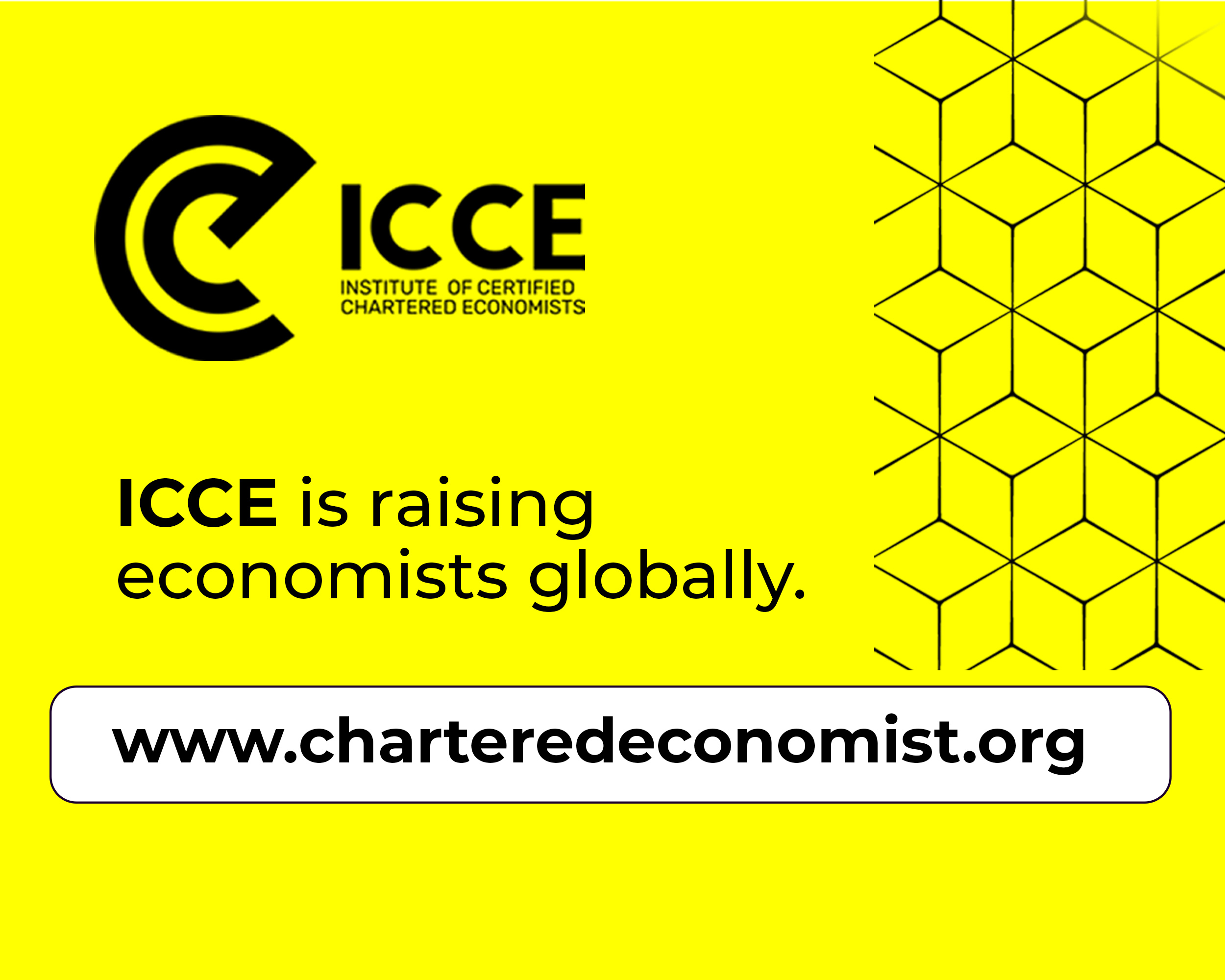 ICCE becomes the leading provider of Chartered Economist designation globally.