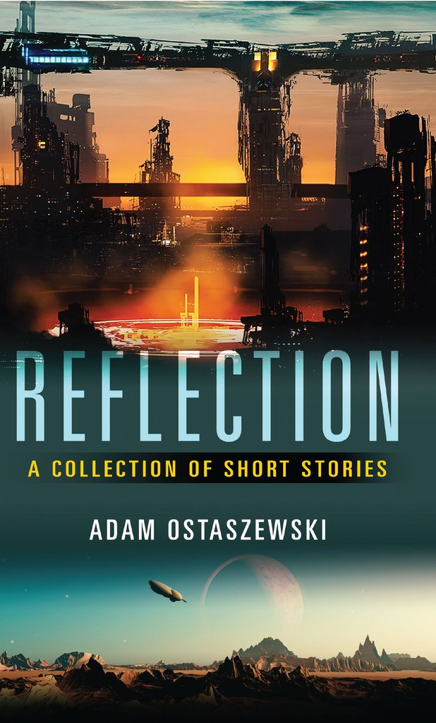 Adam Ostaszewski's book, Reflection: A collection of short stories, out now