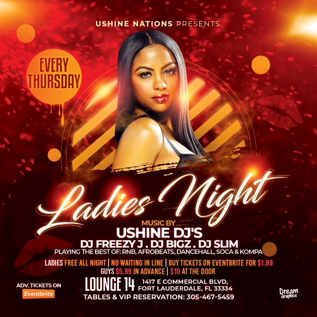 Ladies Night: The Thrilling New Event at Ft. Lauderdale's Lounge 14