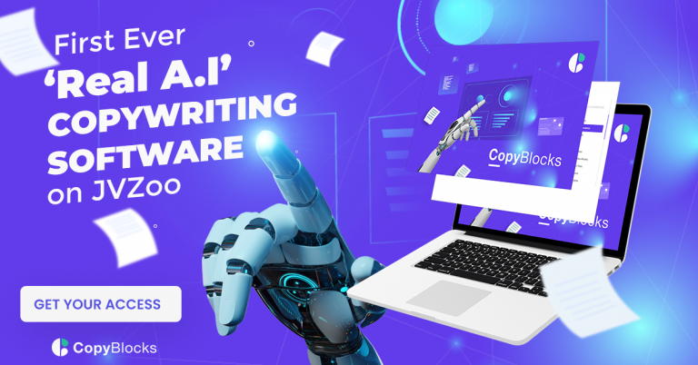 The World's First-Ever Real Artificial Intelligence Copywriting Software.