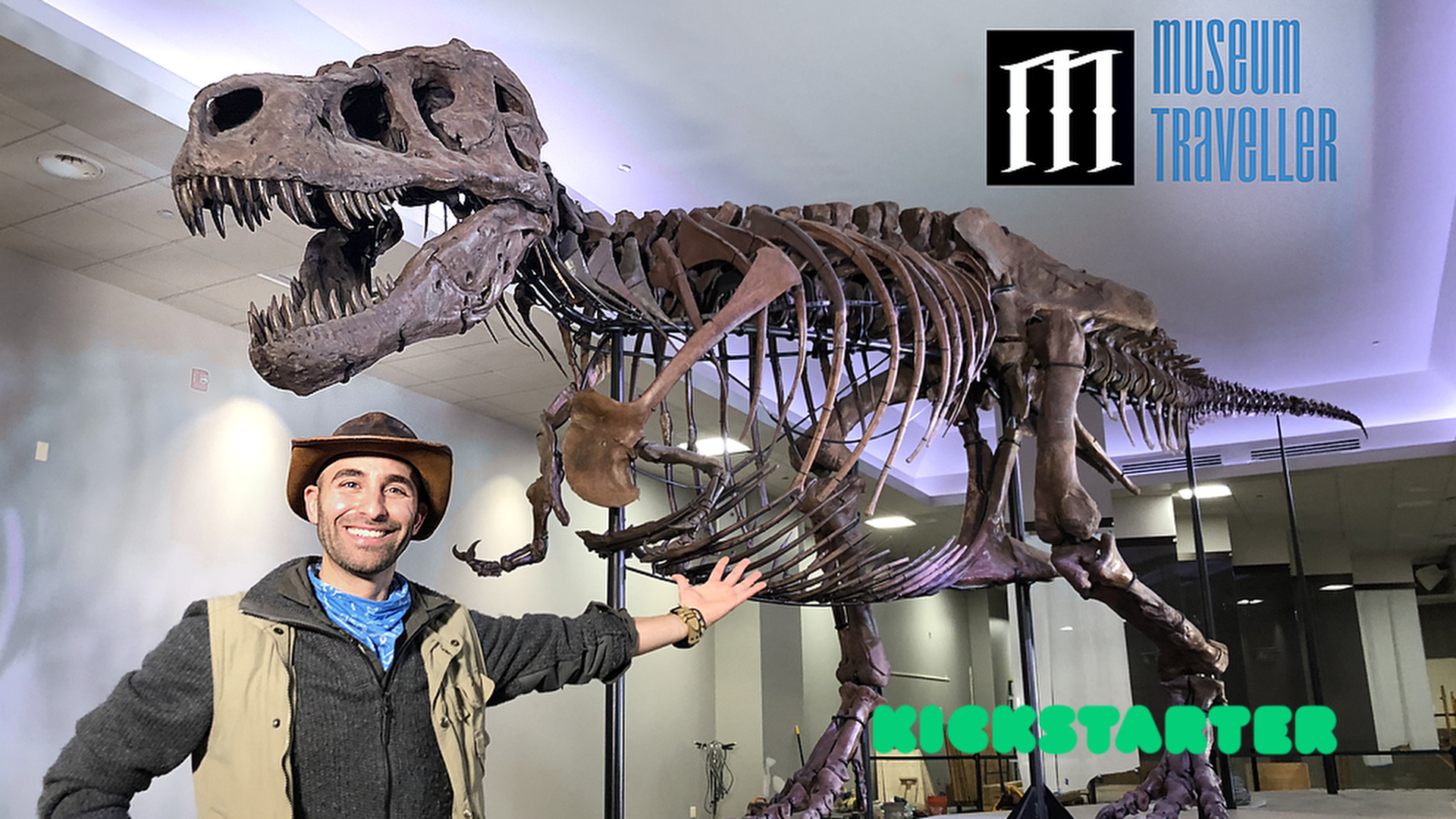 Museum Traveller, an innovative platform that creates virtual museums set to launch on Kickstarter from 14th of September, 2021