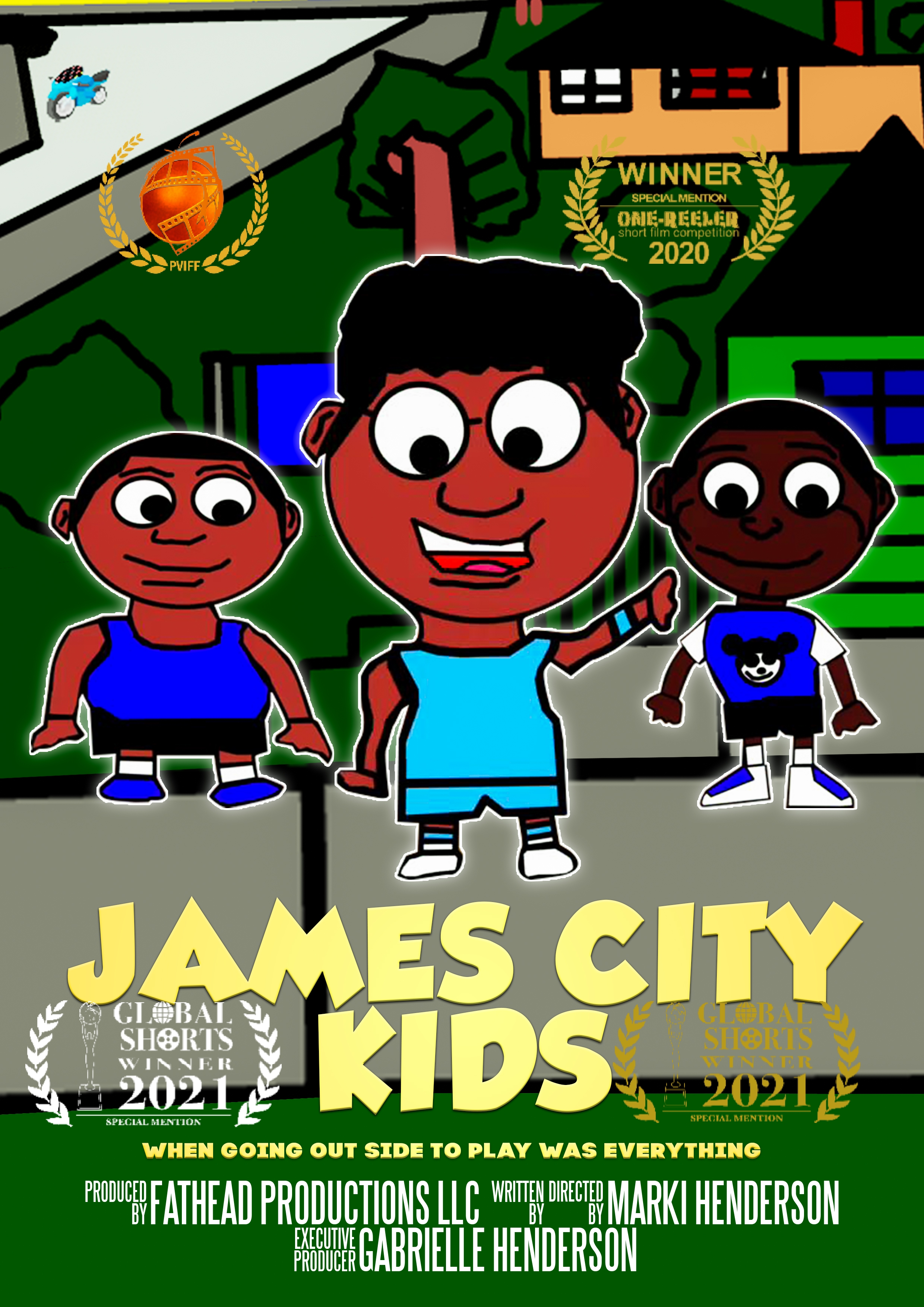 Fathead Productions is now a finalist for the 16th Anniversary Peachtree Village International Film Festival (PVIFF)