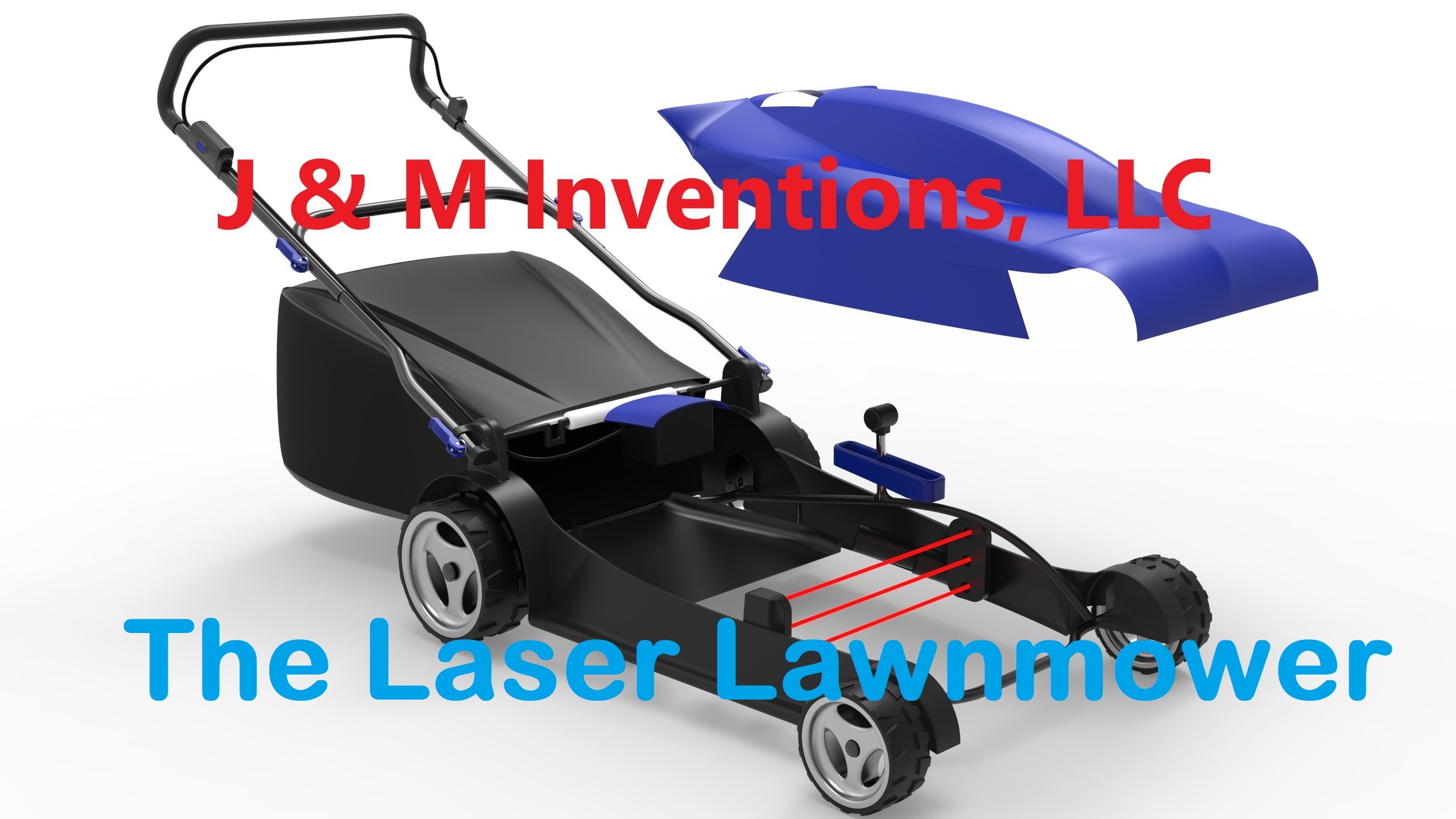 J & M Inventions Launches Laser Lawnmower in a Crowdfunding Campaign to Replace the Classic Lawnmower