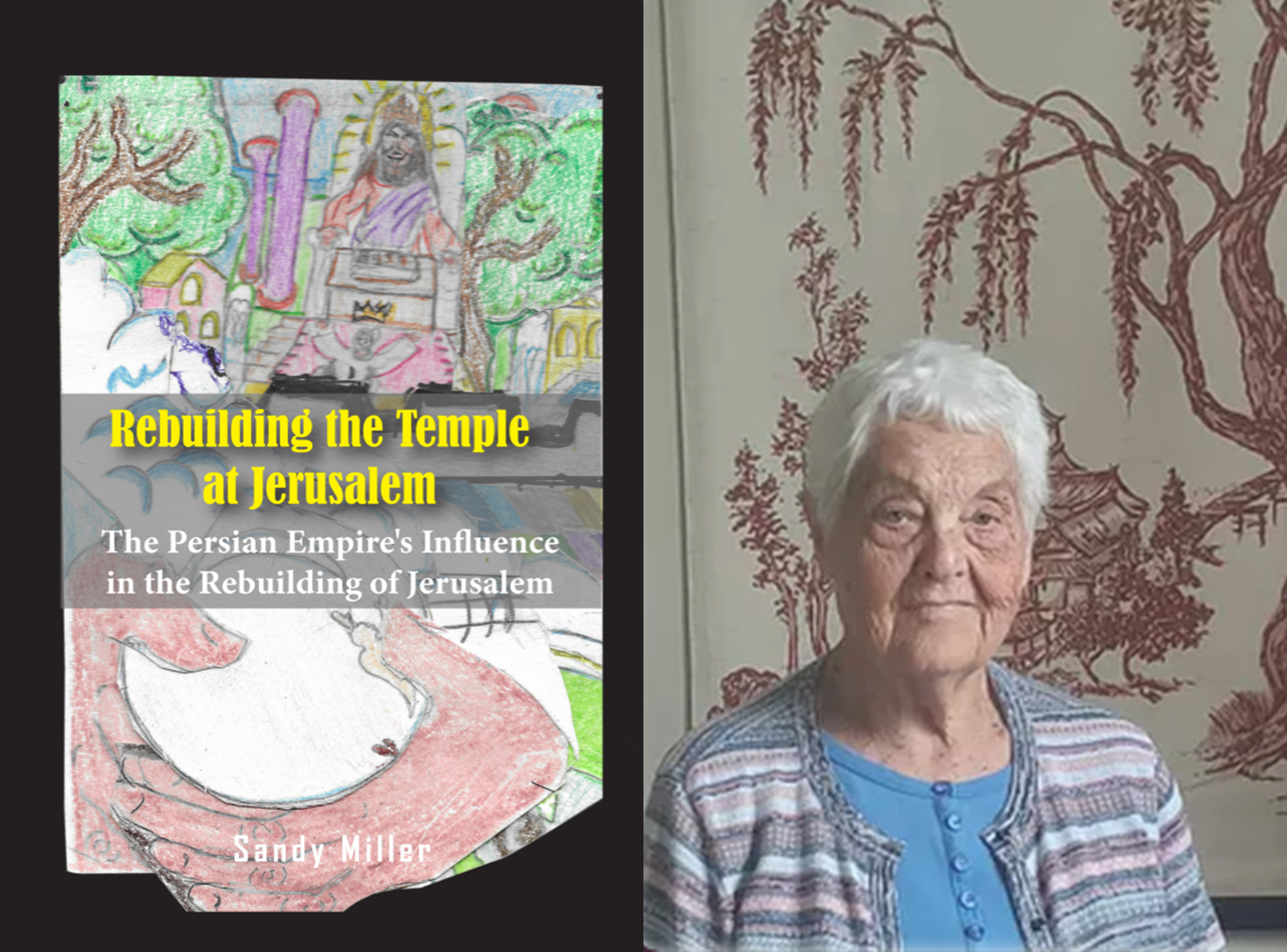 """Author Sandy Miller's Brand-New book, """"Rebuilding The Temple at Jerusalem,"""" is Coming Soon."""