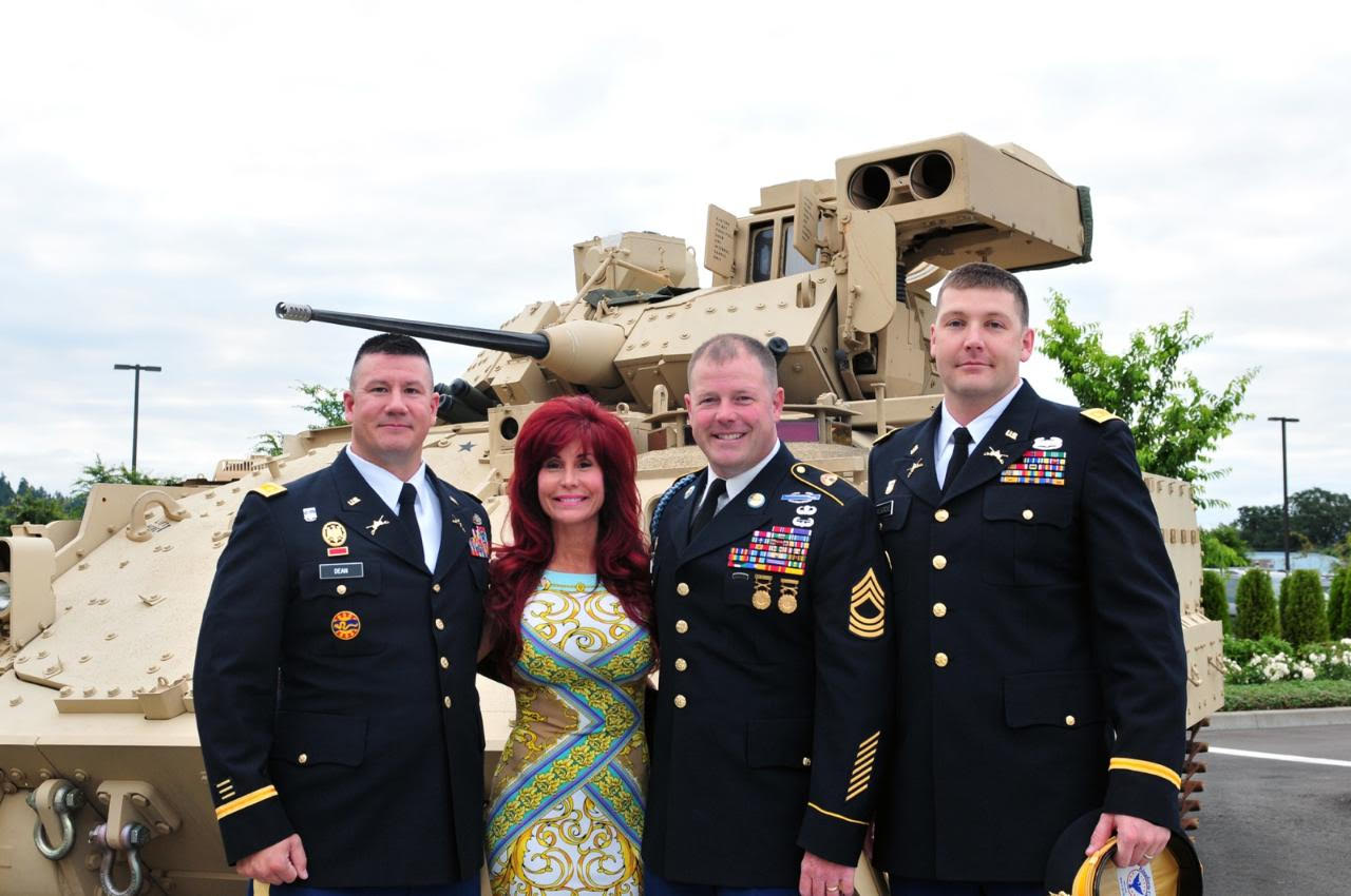 """Suzanne DeLaurentiis Productions Hosts """"Celebrate, Honor & Remember"""" to celebrate Veterans and the United States Military."""