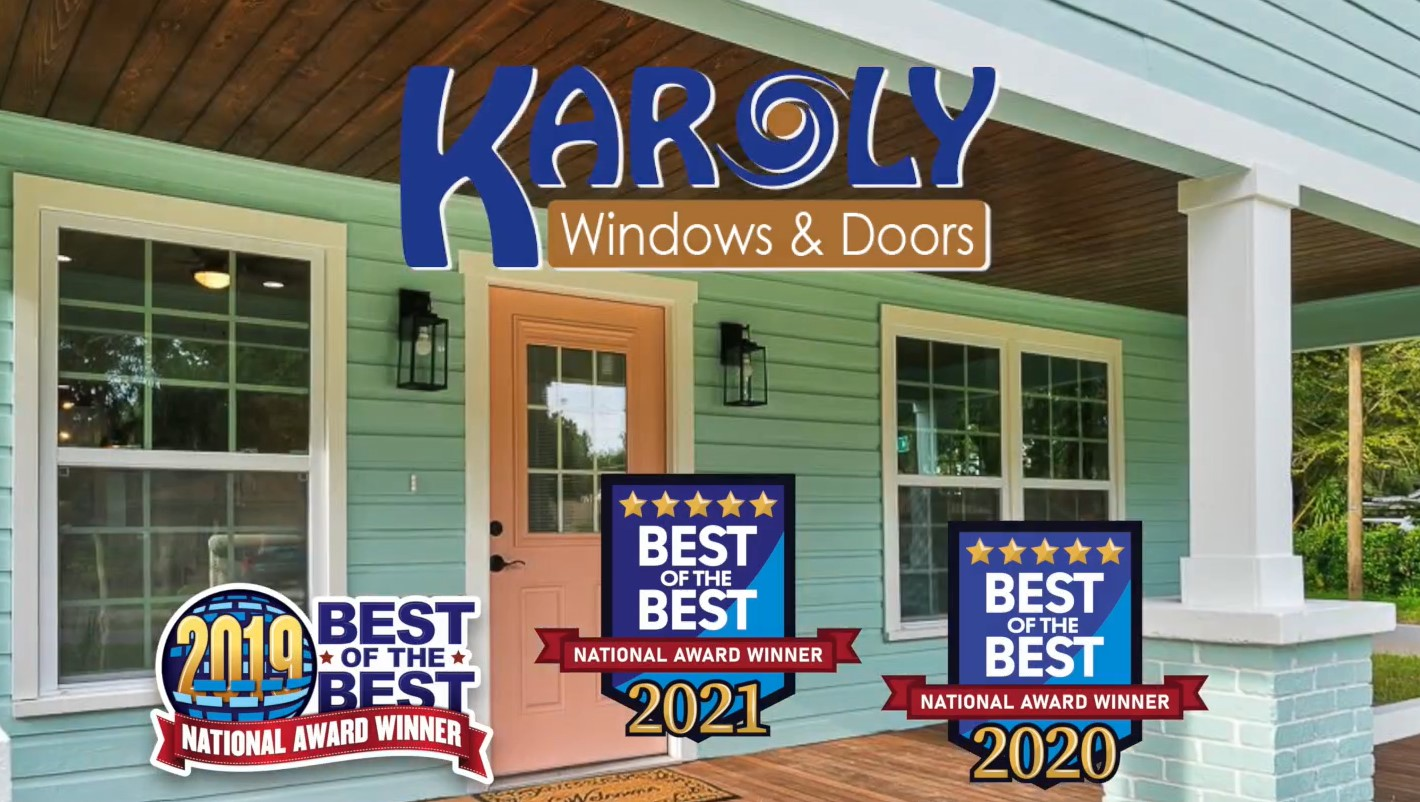 Karoly Windows & Doors Is Voted Best Window Replacement Company in Florida For The Third Year in a Row