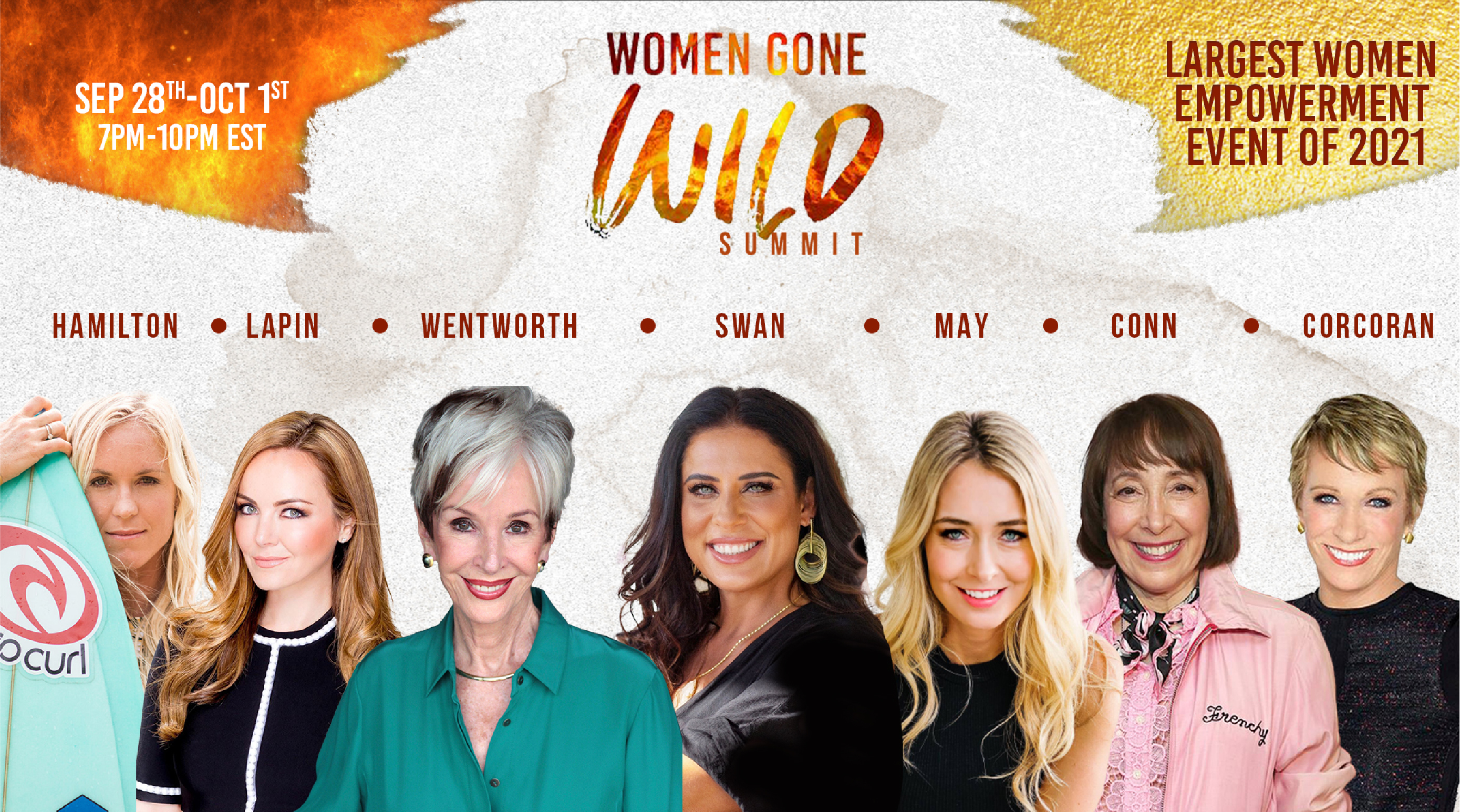 Home of WILD Women and Their Devotion to Fearless Living. The Women Gone Wild International Summit 2021 is Here