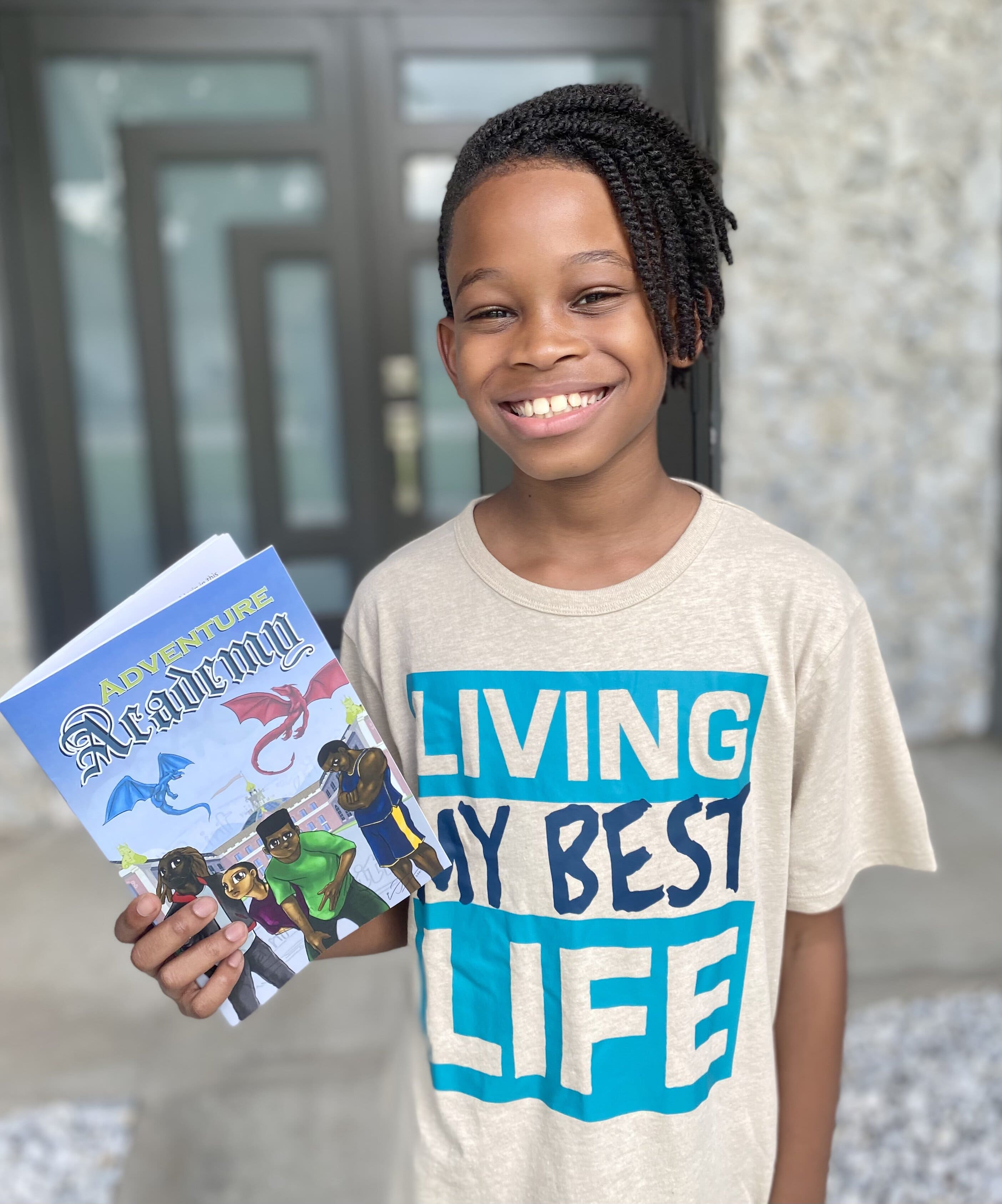 Child prodigy set to release new children's novel series inspiring young readers to overcome challenges
