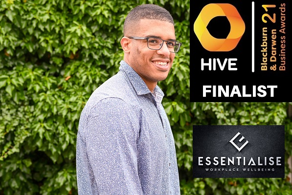 Essentialise Workplace Wellbeing and Founder Lee Chambers up for five awards at the Hive Business Ceremony