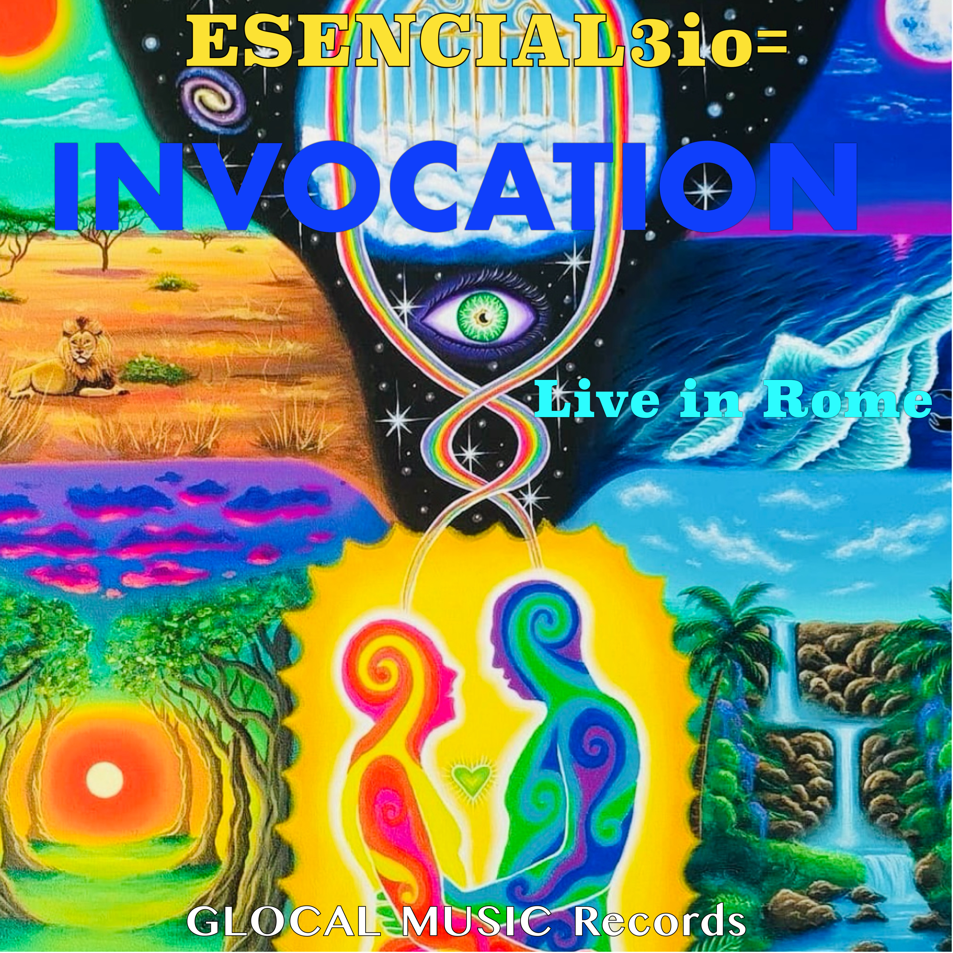 INVOCATION the latest Live Album by ESENCIAL3io=