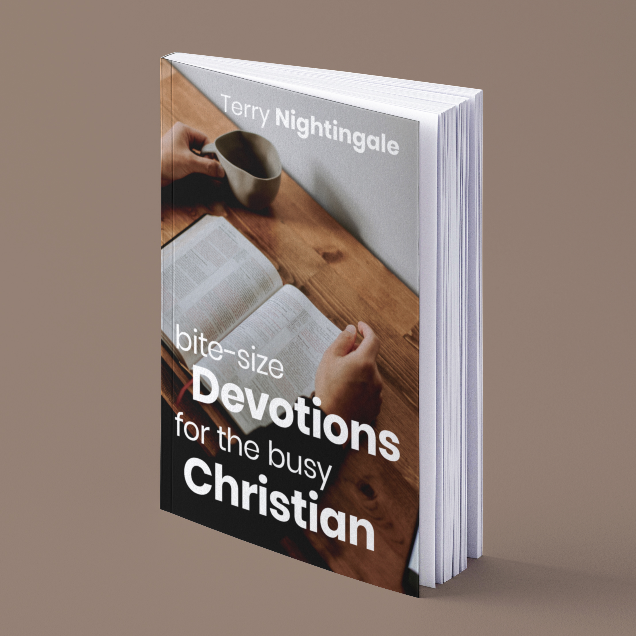 Christian Writer and Blogger Authors Bite-size Devotions for Busy Christians