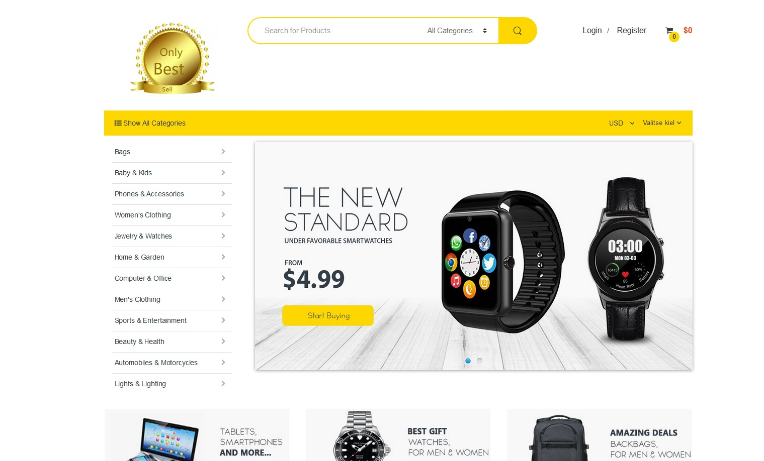 Newly Launched Ecommerce Store is Offering Products at affordable rates for Orders in the United States