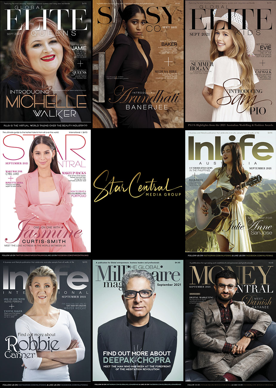 StarCentral Media Group has released this month's Movers & Shakers featuring: Danish Sayanee, Robbie Canner, Michelle Walker, Arundhati Banerjee, Sam Pio and more