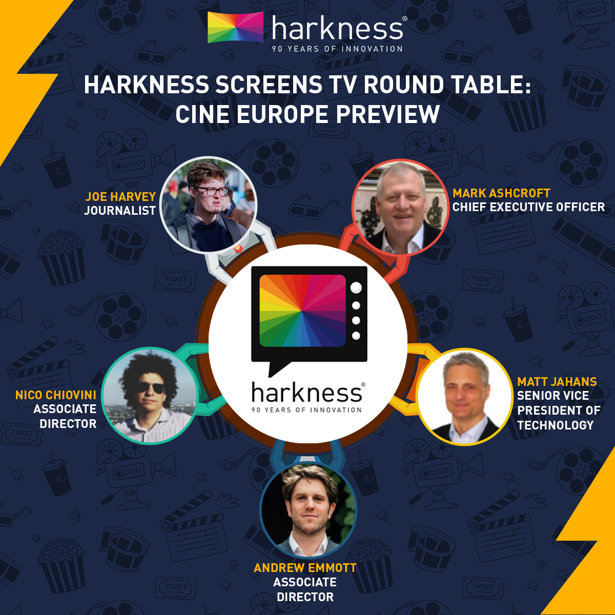 Harkness Screens TV Round Table: Cine Europe Preview