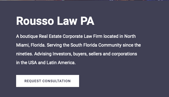 Mark E. Rousso announces the opening of Rousso Law PA