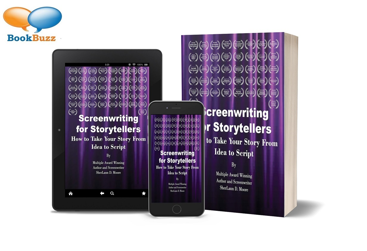 SherLann D. Moore Release New Book - Screenwriting for Storytellers