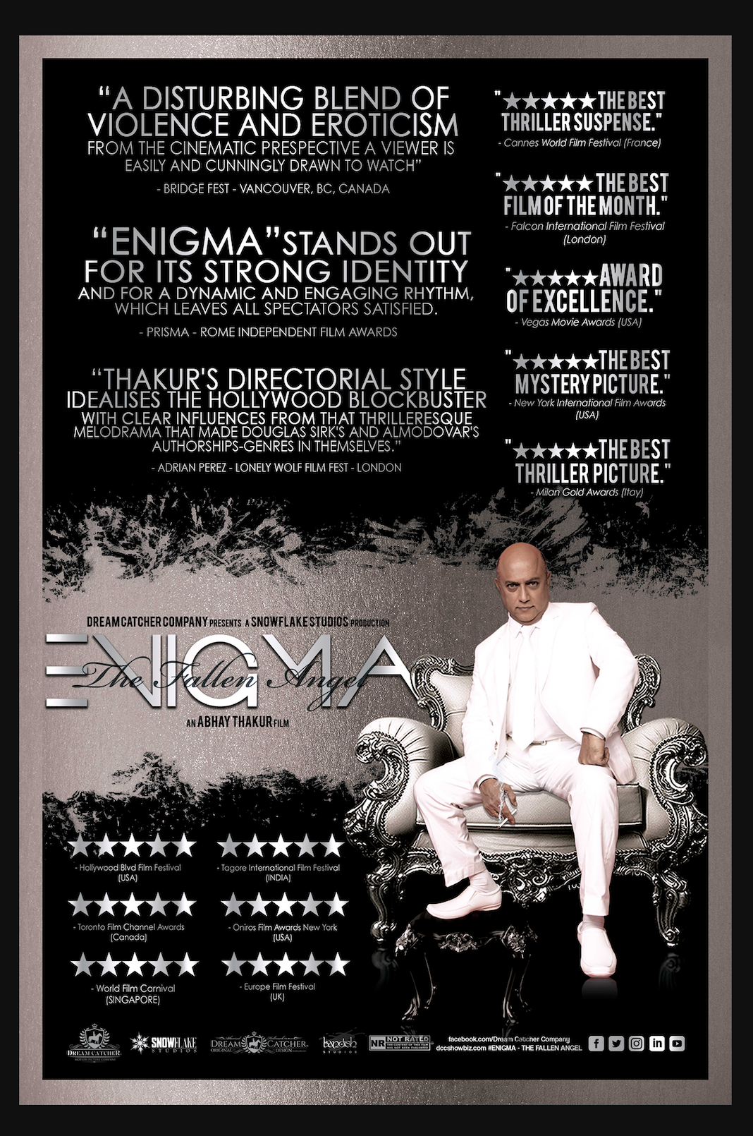 Enigma Wins Over 100 Awards Worldwide, Taking the Film World by Storm