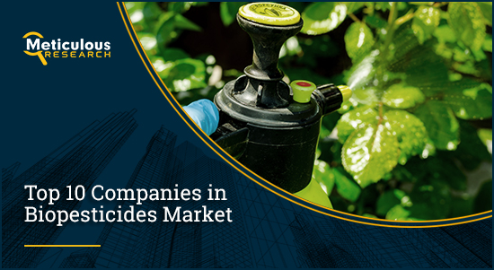 Biopesticides Market: Meticulous Research® Uncovers the Factors Leading to Market Growth at a CAGR of 11.7% to Reach $9.6 Billion by 2028
