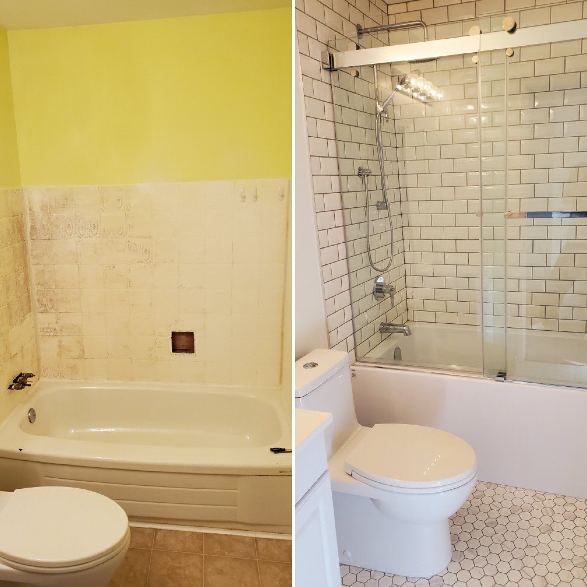 B&L Construction Offers Amazing Transformation of an Average Bathroom in Under Two Weeks