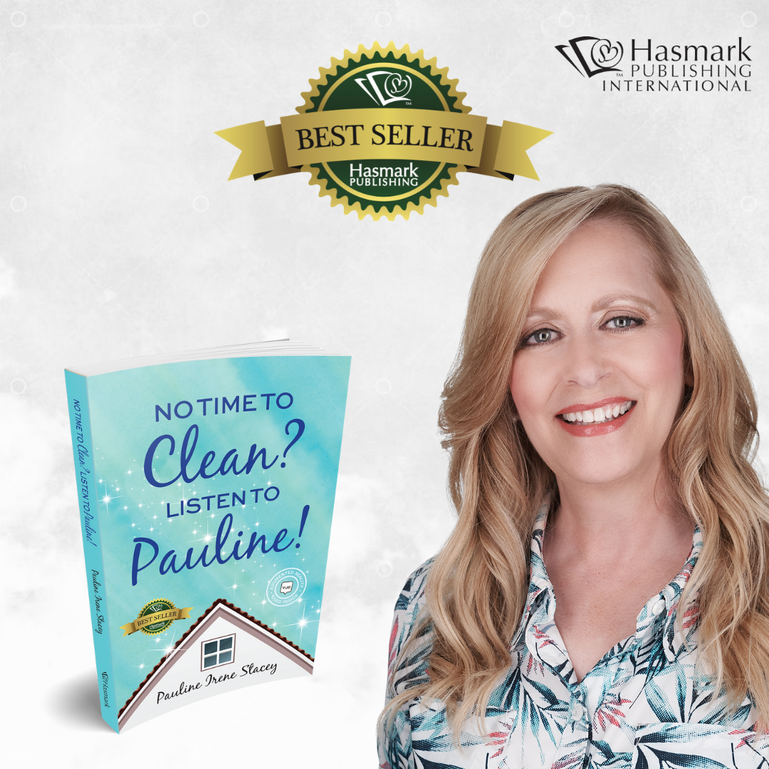 """Hasmark Publishing Releases """"No Time To Clean? Listen To Pauline!"""" By Author Pauline Irene Stacey"""