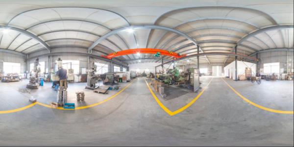 Steel pipe manufacturer holds strict standards