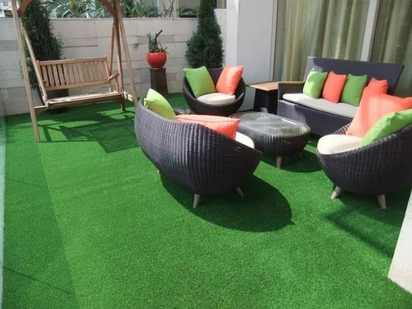 Artificial turf company report positive interaction at Shanghai expo