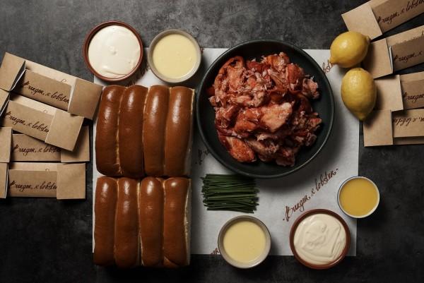 Burger & Lobster DIY Kit - 8 Lobster Rolls ingredients