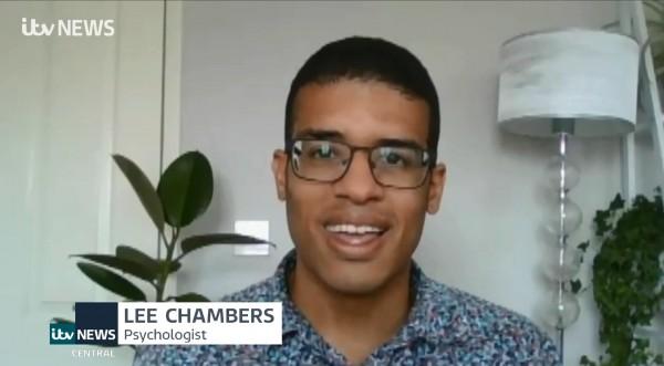 British psychologist Lee Chambers Toyko Olympics ITV News