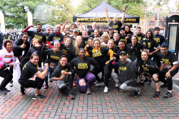 CKO KICKBOXING UNITES TEAM FOR NEXT CITY CHALLENGE RACE IN NEW Y