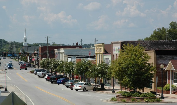 Main Street District of Ringgold, Ga.