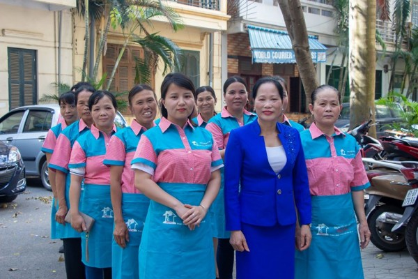 Hongdoan profesional housemaid staffs