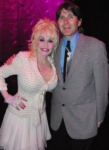 Randall Franks and Dolly Parton (Randall Franks Media: Karen Peck)