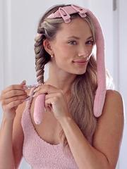 How to curl hair with heatless curl rod
