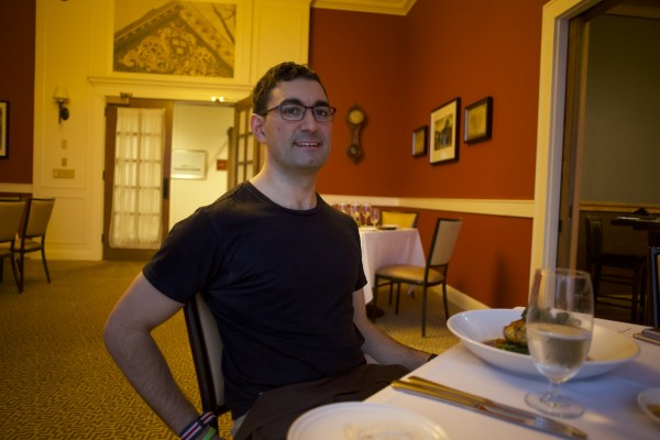 Jacob Khan at Harvard Club of Boston
